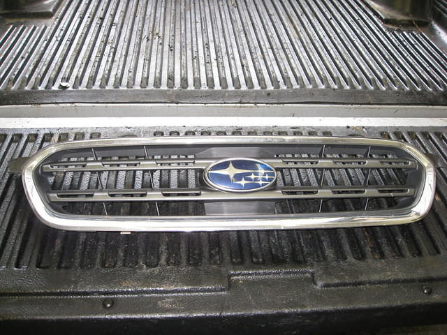 Grille - Front - some light pitting in chrome