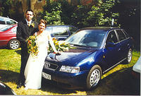 my Audi A3 1.9 tdi (at my brothers wedding)